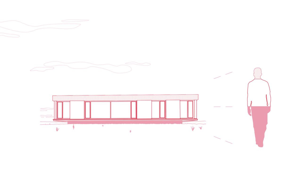 Ähnlich dem menschlichen Körperaufbau besteht eine Gebäude aus (v.o.n.u.) Attika/Dach, Hauptbaukörper und Sockel.