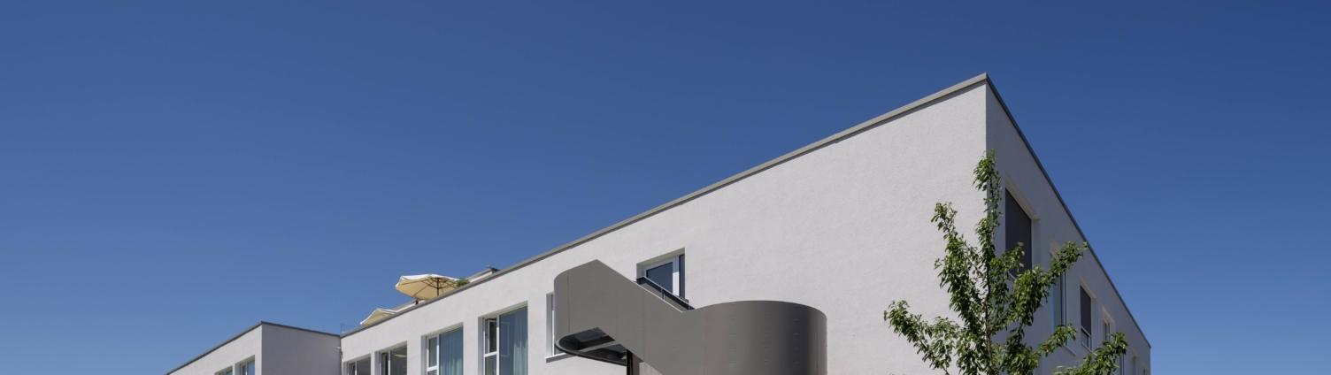 Moderner Neubau Pflegeheim Dettingen