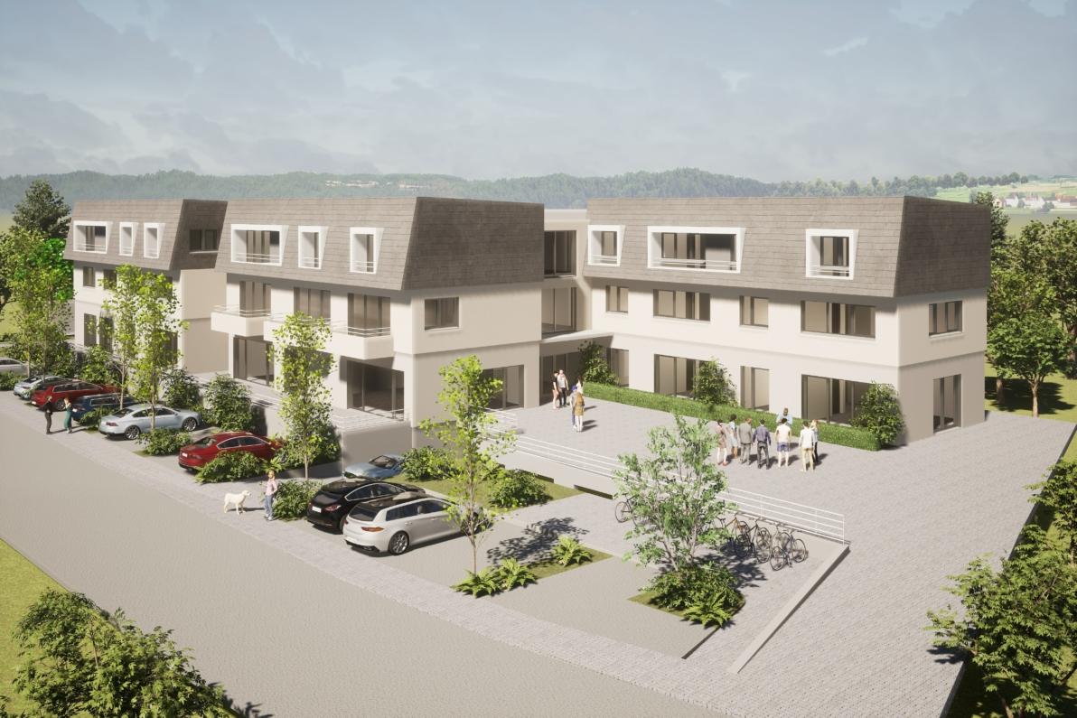 Egenhausen Seniorengerechtes Wohnen in neuem Wohnpark