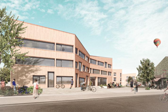 buerohauser_Projektentwicklung_Städtebau_Verdichtung _Rendering Verwaltung